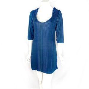 NWOT-Tulle Anthropologie Hooded Sheath Mini Dress